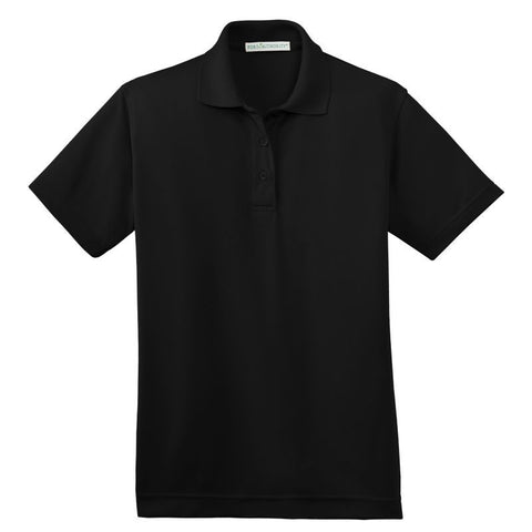 Port Authority  Ladies Poly Bamboo Charcoal Blend Pique Polo  L497