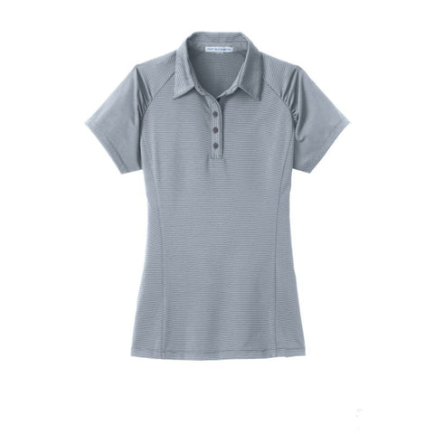 Port Authority Ladies Fine Stripe Performance Polo  L558