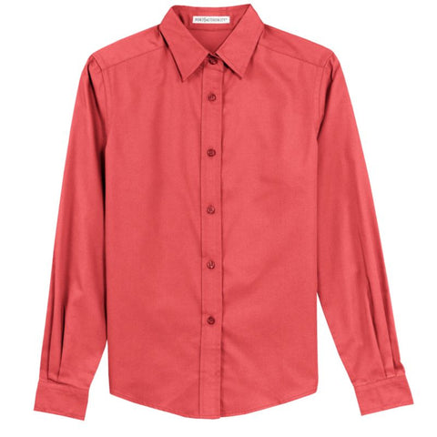 Port Authority Ladies Long Sleeve Easy Care Shirt  L608
