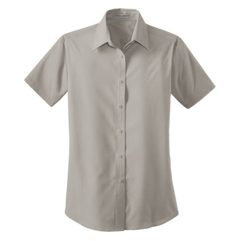 Port Authority Ladies Short Sleeve Value Poplin Shirt  L633