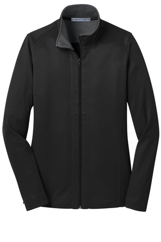 Port Authority Ladies Vertical Texture Full-Zip Jacket  L805
