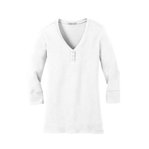 Port Authority  Ladies Concept Stretch 3/4 Sleeve Scoop Henley  LM1007