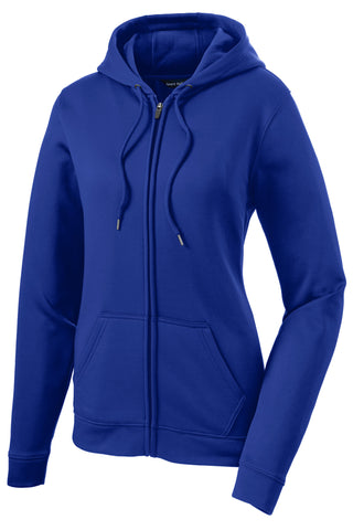 Sport-Tek Ladies Sport-Wick Fleece Full-Zip Hooded Jacket LST238