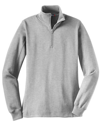 Sport-Tek Ladies 1/4-Zip Sweatshirt LST253
