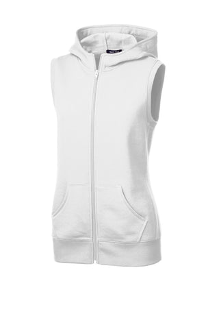 Sport-Tek Ladies Hooded Fleece Vest LST268
