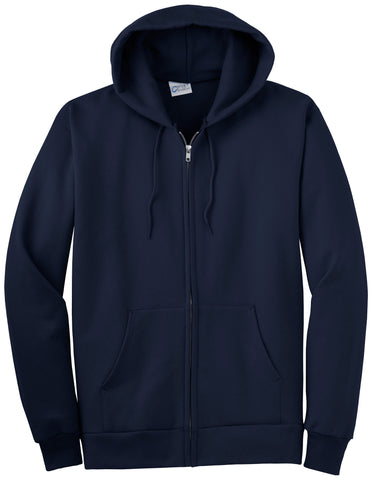 Port and Company Ultimate Full-Zip Hooded Sweatshirt PC90ZH