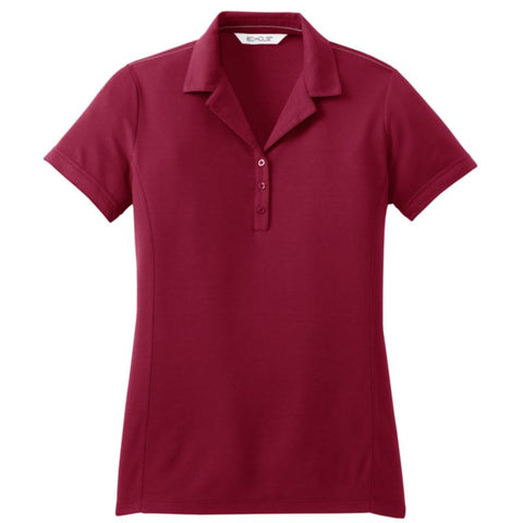 Red House  Ladies Contrast Stitch Performance Pique Polo  RH50