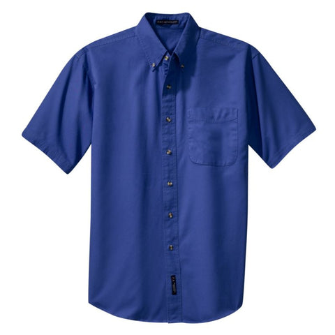 Port Authority  Short Sleeve Twill Shirt  S500T