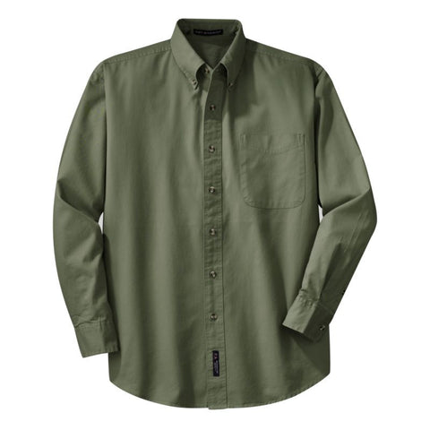 Port Authority Long Sleeve Twill Shirt  S600T