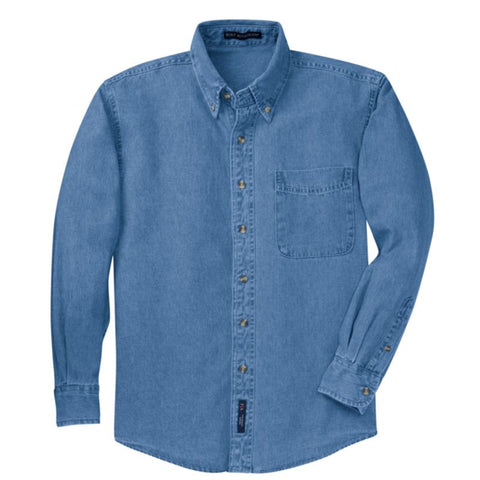 Port Authority Long Sleeve Denim Shirt  S600