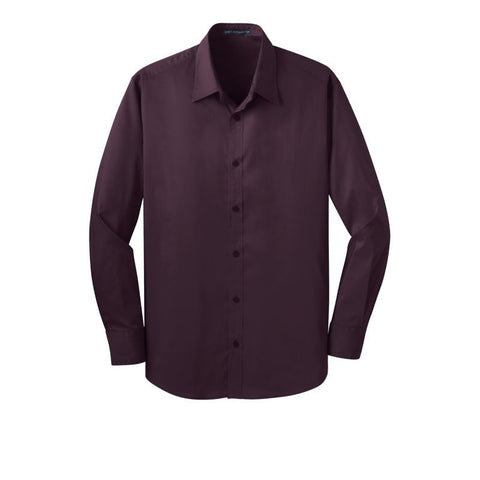 Port Authority Stretch Poplin Shirt  S646