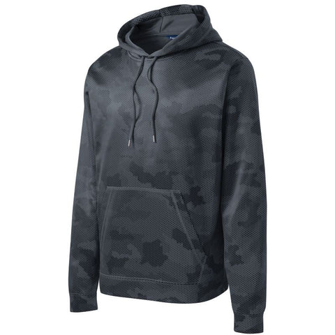 NEW Sport Tek Sport Wick CamoHex Fleece Hooded Pullover  ST240