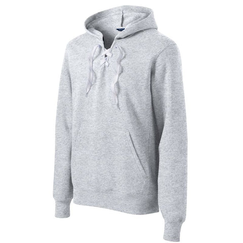 NEW Sport Tek Lace Up Pullover Hooded Sweatshirt ST271