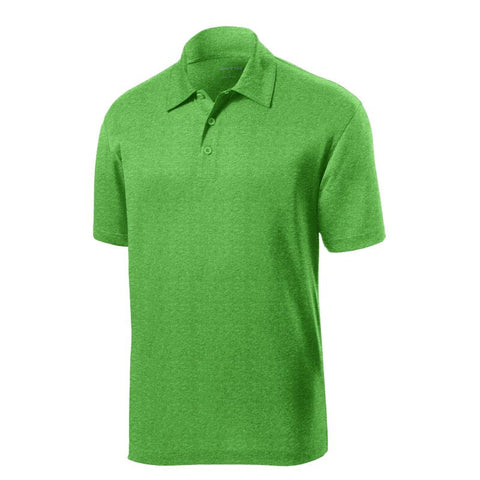 Sport Tek  Heather Contender Polo  ST660