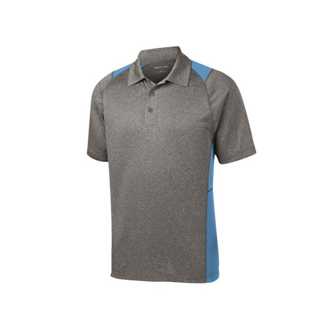 Sport Tek Heather Colorblock Contender Polo  ST665