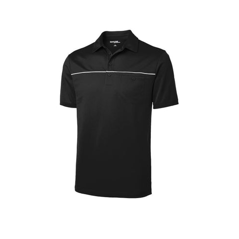 Sport Tek  PosiCharge Micro Mesh Piped Polo  ST686