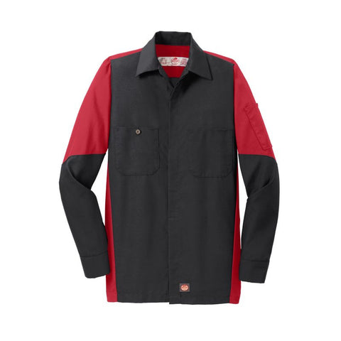NEW Red Kap Long Sleeve Ripstop Crew Shirt SY10