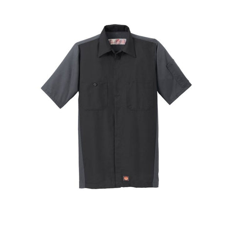 NEW Red Kap Short Sleeve Ripstop Crew Shirt SY20