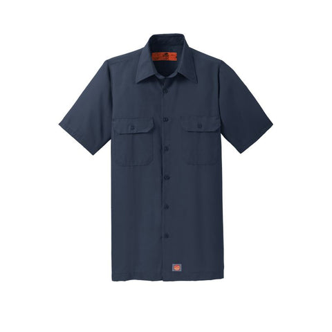 NEW Red Kap Short Sleeve Solid Ripstop Shirt SY60
