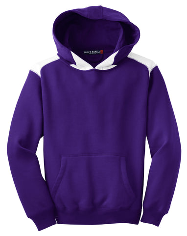 Sport-Tek Youth Pullover Hooded Sweatshirt with Contrast Color Y264