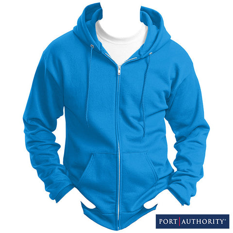 Port & Company Classic Full-Zip Hooded Sweatshirt PC78ZH