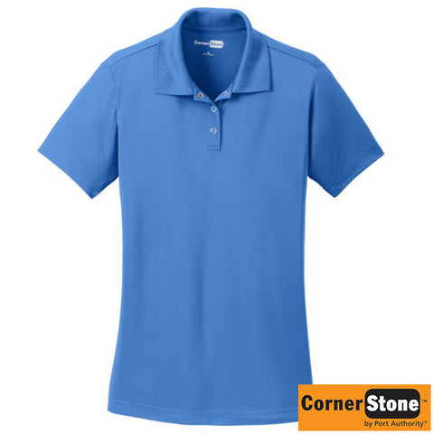 NEW CornerStone Ladies Micropique Gripper Polo CS422
