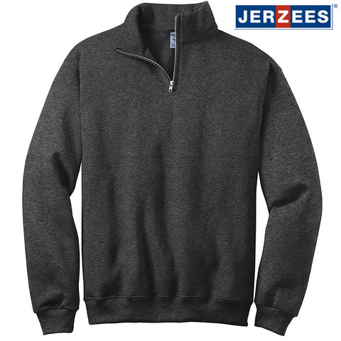 JERZEES  1/4-Zip Cadet Collar Sweatshirt  995M