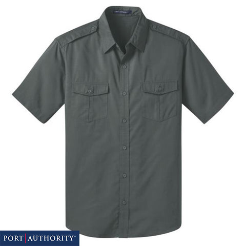 Port Authority Stain-Resistant Short Sleeve Twill Shirt S648