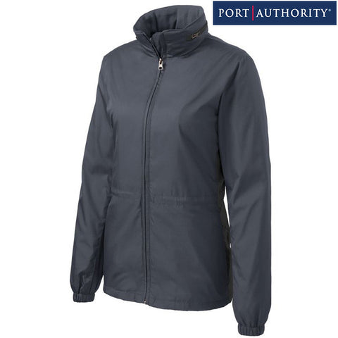 NEW Port Authority Ladies Core Colorblock Wind Jacket L330