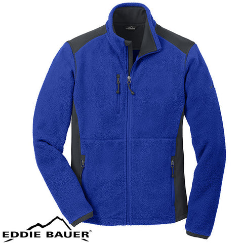 Eddie Bauer Full Zip Sherpa Fleece Jacket  EB232