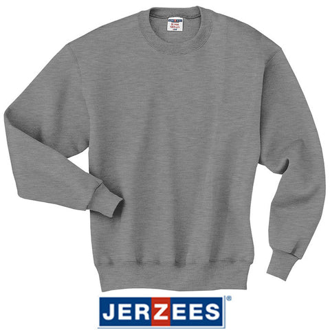 JERZEES SUPER SWEATS  Crewneck Sweatshirt  4662M