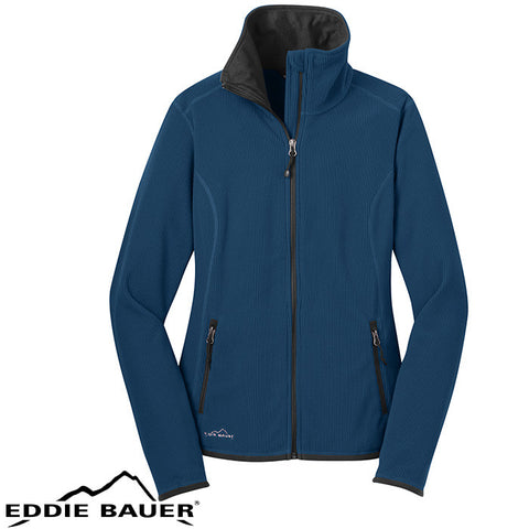 Eddie Bauer Ladies Full Zip Vertical Fleece Jacket  EB223