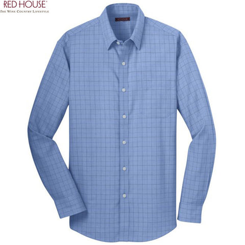 Red House  Windowpane Plaid Non Iron Shirt  RH70
