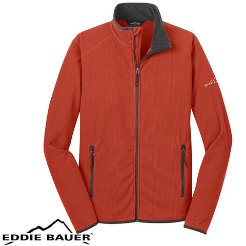 Eddie Bauer Full Zip Vertical Fleece Jacket  EB222
