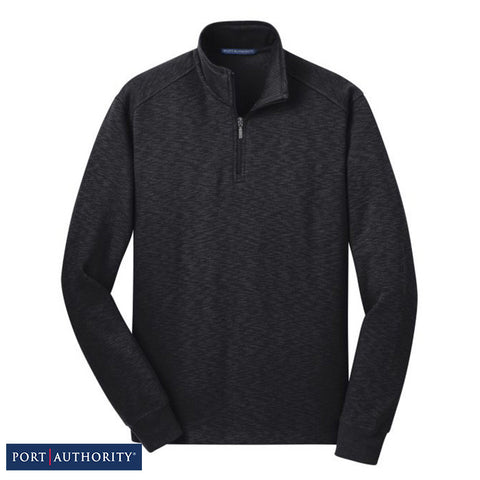 Port Authority Slub Fleece 1/4-Zip Pullover  F295