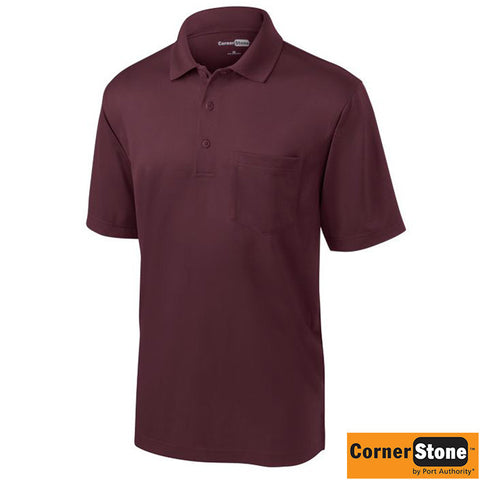 CornerStone  Select Snag Proof Pocket Polo  CS412P