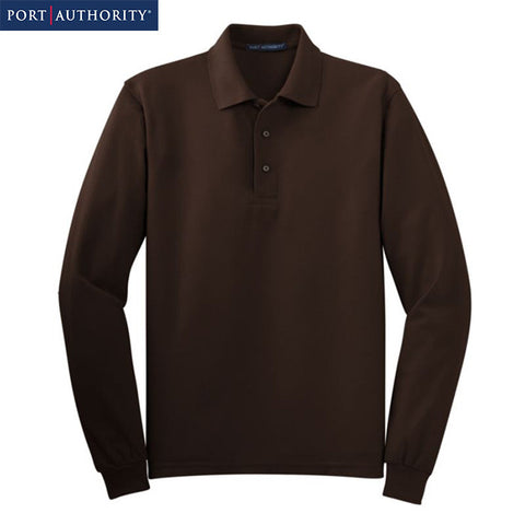 Port Authority Long Sleeve Silk Touch Polo  K500LS