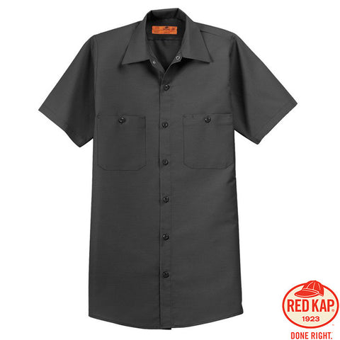 Red Kap  Short Sleeve Industrial Work Shirt  SP24