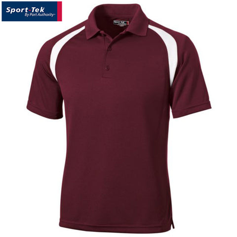 Sport Tek  Dry Zone Colorblock Raglan Polo  T476