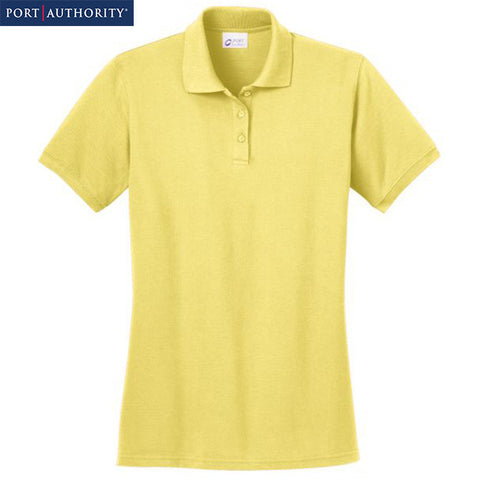 Port & Company Ladies Ring Spun Pique Polo  LKP150