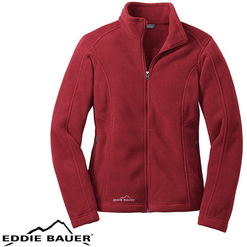 Eddie Bauer  Ladies Full Zip Fleece Jacket  EB201