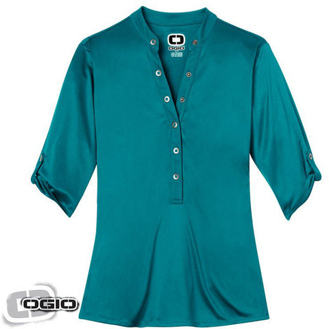 OGIO Crush Henley  LOG111