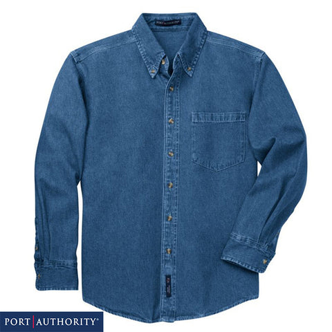 Port Authority Heavyweight Denim Shirt  S100
