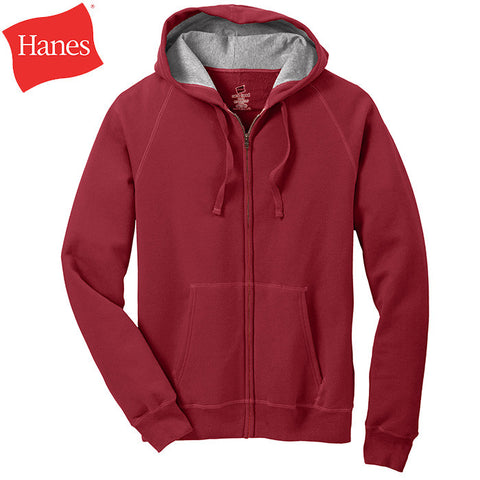 Hanes Nano Full-Zip Hooded Sweatshirt  HN280
