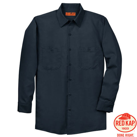 Red Kap  Long Sleeve Industrial Work Shirt  SP14