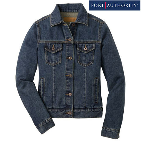 Port Authority Ladies Denim Jacket L7620