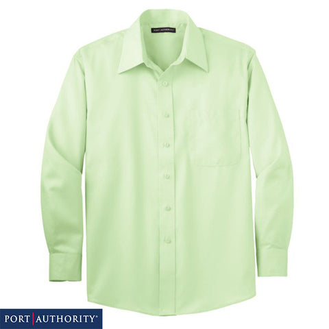 Port Authority  Long Sleeve Non Iron Twill Shirt  S638