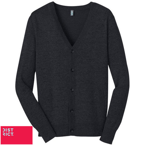 District Made Mens Cardigan Sweater  DM315