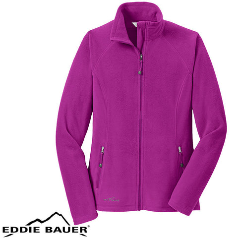 Eddie Bauer  Ladies Full Zip Microfleece Jacket  EB225