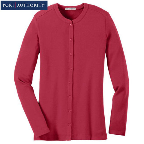Port Authority  Ladies Concept Stretch Button Front Cardigan  LM1008